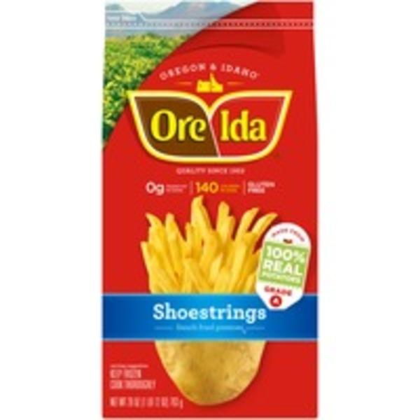 Ore Ida Shoestrings French Fried Potatoes