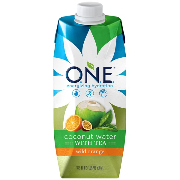 O.N.E. Coconut Water Wild Orange with Tea  Coconut Water