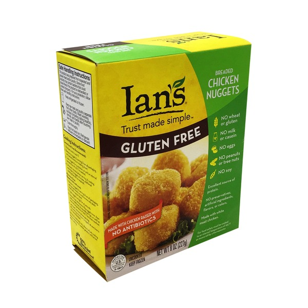 Ian's Gluten Free Breaded Chicken Nuggets