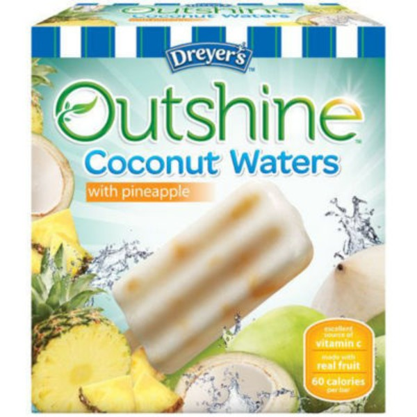 Outshine Outshine Pineapple Coconut Water Fruit Bars
