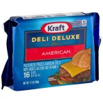 Kraft Deli Deluxe American Cheese Slices12 oz16 ct