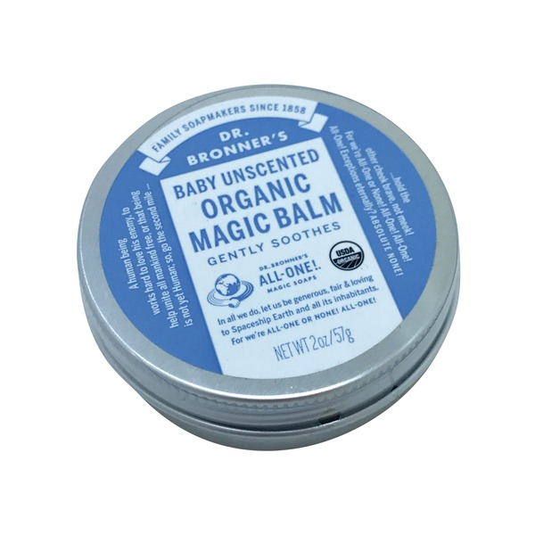 Dr. Bronner's Organic Baby Magic Balm Unscented