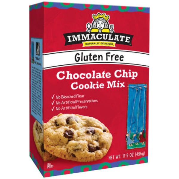 Immaculate Bakery Gluten Free Chocolate Chip Cookie Mix
