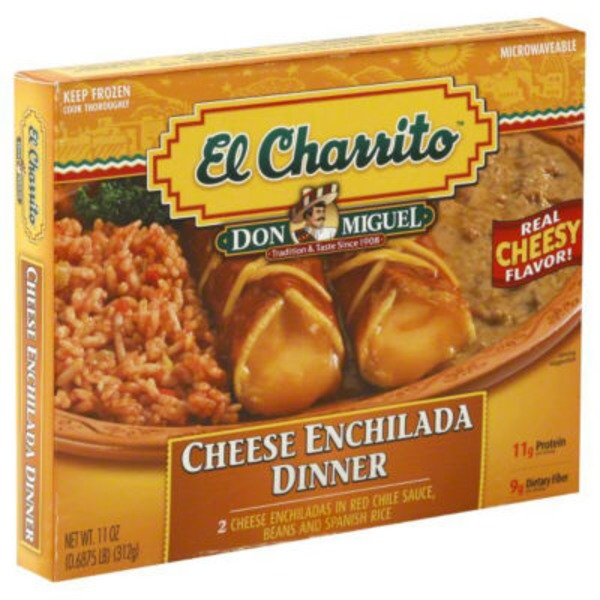 El Charrito Cheese Enchilada Dinner