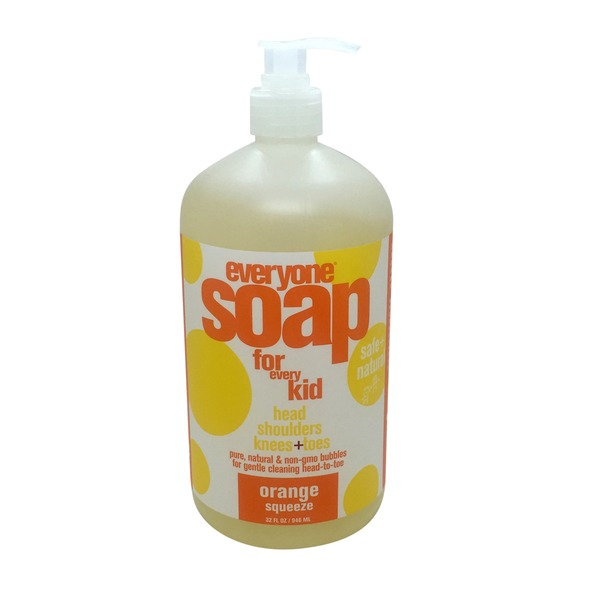 Everyone Safe & Natural Orange Squeeze Kids Liquid Soap