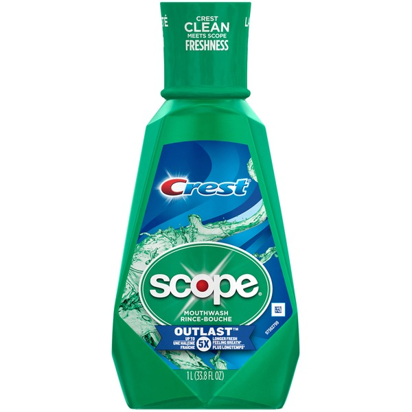 Scope Outlast Scope Outlast Long Lasting Mint Mouthwash 1 L  Oral Care