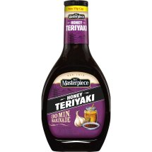 KC Masterpiece Honey Teriyaki Marinade, 16 oz