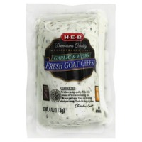 H-E-B Garlic and Herb Fresh Goat Cheese Log