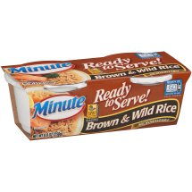 Minute Ready to Serve Brown & Wild 4.4 Oz Rice 2 Ct Cups