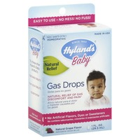 Hyland's Homeopathic Grape Flavor Baby Gas Drops