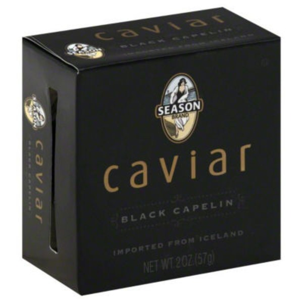 Season Black Capelin Caviar