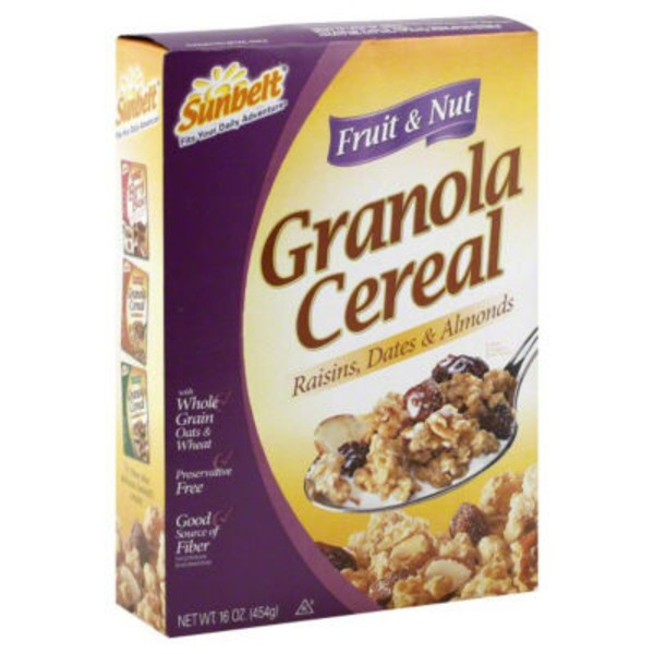 Sunbelt Fruit & Nut Granola Cereal