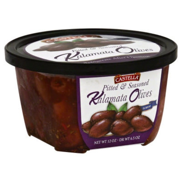 Castella Kalamata Pitted Xl Olives