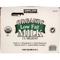 Kirkland Signature Organic Low Fat Milk