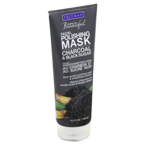 Feeling Beautiful Charcoal & Black Sugar Facial Polishing Mask