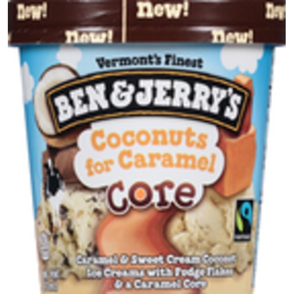 Ben & Jerry's Coconuts for Caramel Core Ice Cream