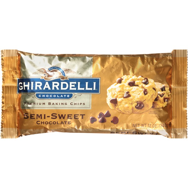 Ghirardelli Chocolate Semi-Sweet Chocolate Chips Baking Chips