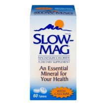 Slow-Mag Magnesium Chloride with Calcium Tablets - 60 CT