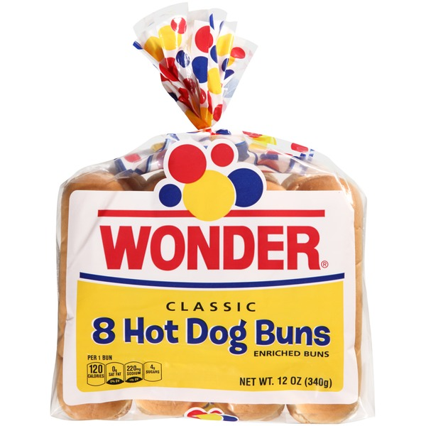 Wonder Bread Classic Hot Dog Buns