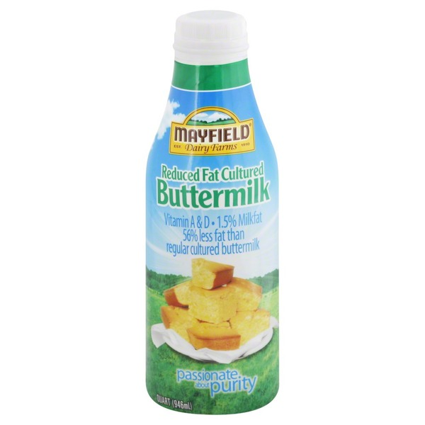 Mayfield Reduced Fat Cultured Buttermilk