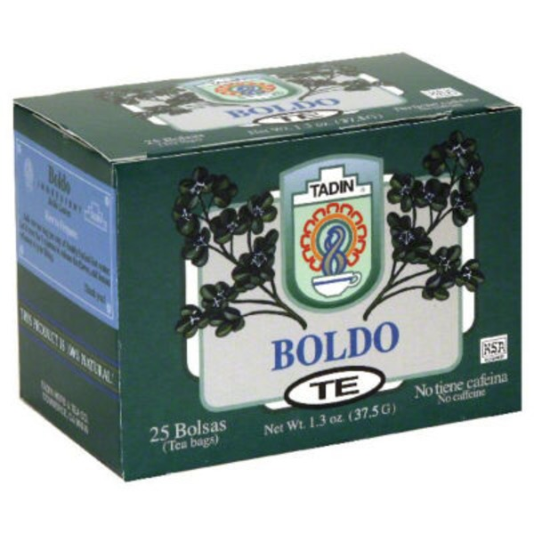 Tadin Boldo Tea Herbal Tea Bags