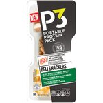 P3 Deli Snackers Turkey Breast Bacon Pieces & Colby & Monterey Jack Cheese Portable Protein Pack