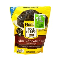 Nestle Toll House Double Chocolate Chip Frozen Cookie Dough
