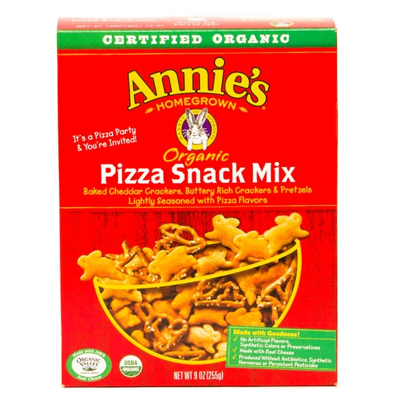 Annie's Homegrown Organic Pizza Snack Mix Snack Mix, Organic