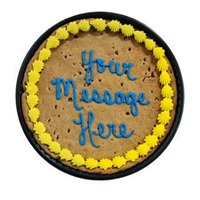 H-E-B Bakery Message Chocolate Chip Cookie