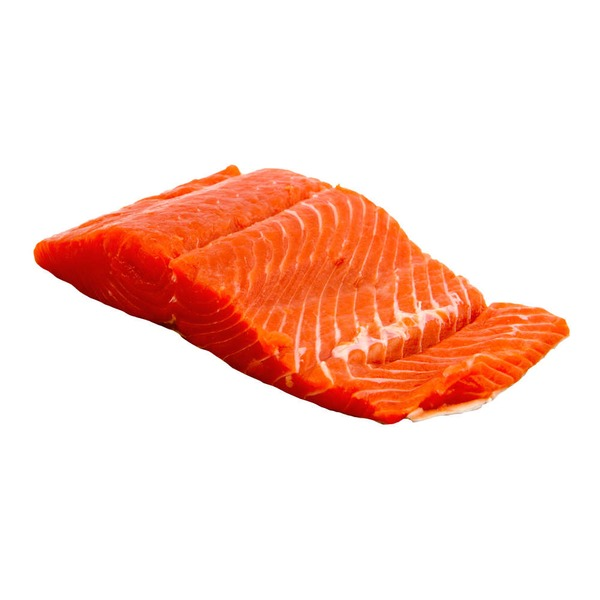 Fresh King Salmon Fillet, Wild Caught