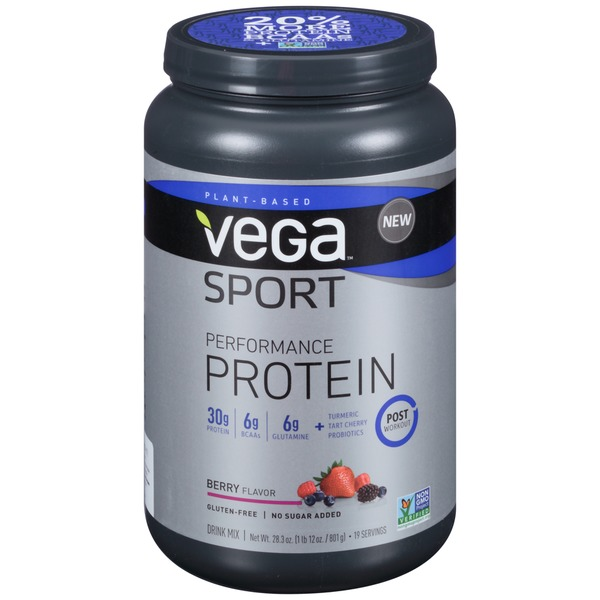 Vega Sport Performance Protein Berry Flavor Drink Mix