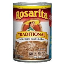 Rosarita Traditional Refried Beans, 16 Ounce