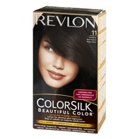 Revlon ColorSilk 11 Soft Black Permanent Hair Color