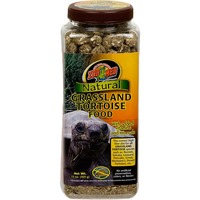Zoo Med Natural Grassland Tortoise Food With Added Vitamins & Minerals