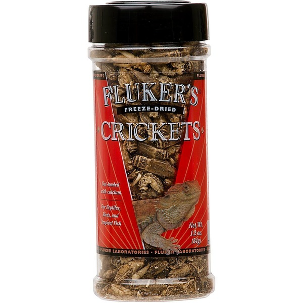 Fluker's Freeze Dried Crickets 1.2 Oz.