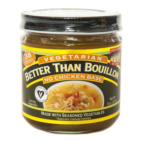 Better Than Bouillon Vegetarian No Chicken Base