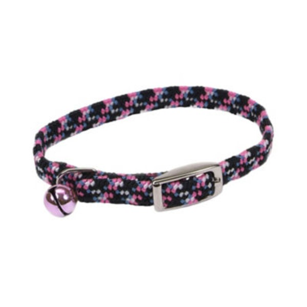 Coastal Pet Lil Pals Adjustable Reflective Kitten Collar Neon Pink