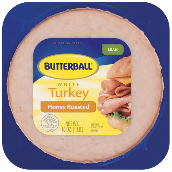Butterball White Lean Honey Roasted Turkey