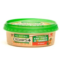 Cedar Low Sodium Gluten Free Fat Free Original Hommus