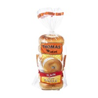 Thomas Plain Bagels - 6 PK