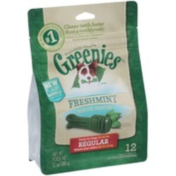 Greenies Freshmint Regular Dog Treats