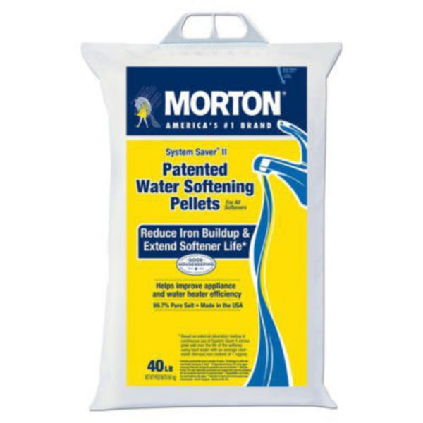 Morton System Saver Ii Water Softening Pellets