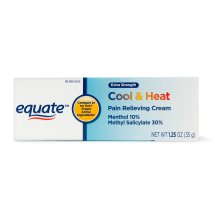 Equate Extra Strength Cool & Heat Pain Relieving Cream, 1.25 Oz