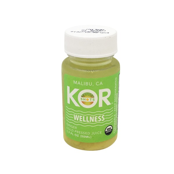 Kor shots Wellness Organic Ginger Cold-Pressed Juice Shot