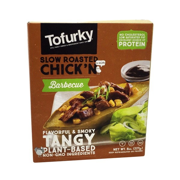 Tofurky Chick'n, Slow Roasted, BBQ Style
