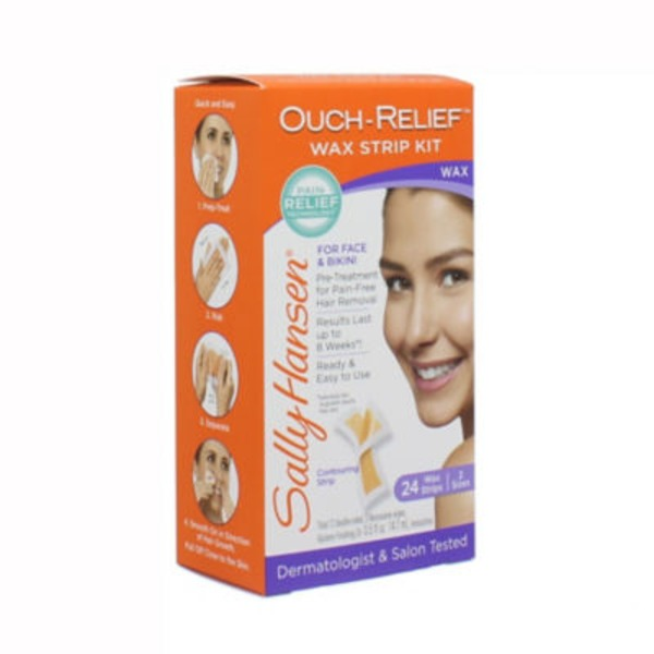 Sally Hansen Ouch Relief Face Wax Strips