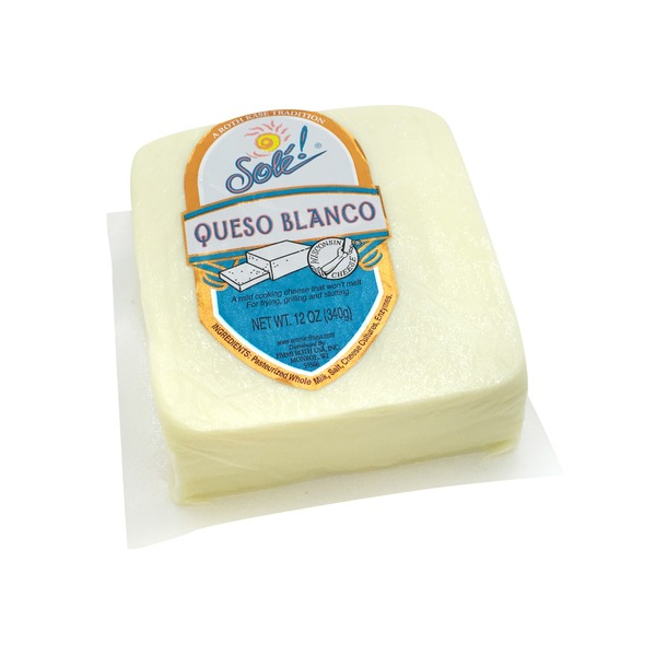 Sole Queso Blanco