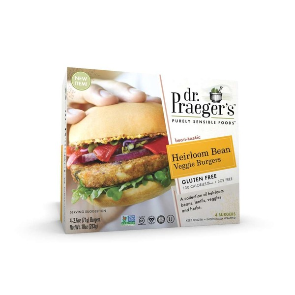 Dr. Praeger's Heirloom Bean Veggie Burgers