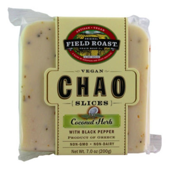 Field Roast Chao, Vegan, Coconut Herb, Slices