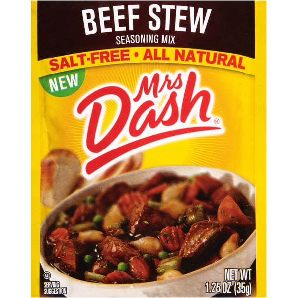 Mrs. Dash Salt Free Beef Stew Seasoning Mix